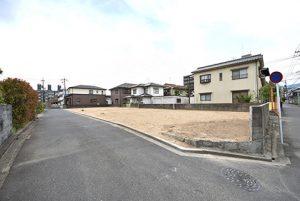 広島市佐伯区三筋1丁目の分譲土地の全景写真