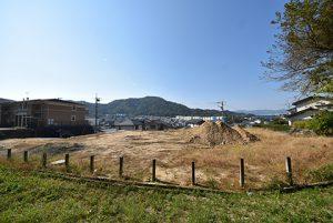 広島市東区戸坂大上4丁目の分譲土地の現地からの眺望