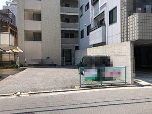 広島市中区舟入中町の売却土地の全景写真