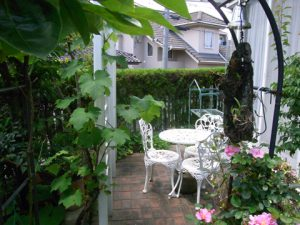 佐伯区藤の木1丁目中古一戸建てのお庭