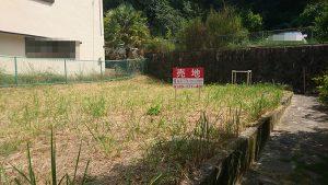 広島市西区己斐西町の土地の全景写真
