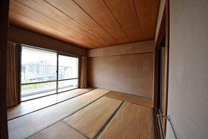 長寿園マンションの和室6帖