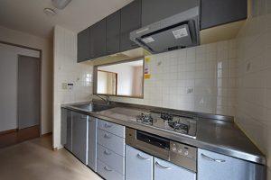 大州公園ロジュマン対面キッチン写真