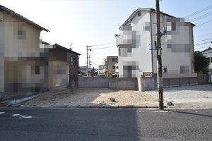 廿日市市地御前3丁目の土地全景正面の写真
