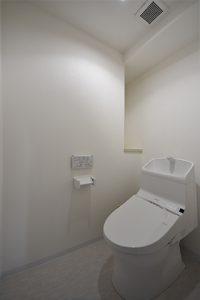 トイレ新品に交換