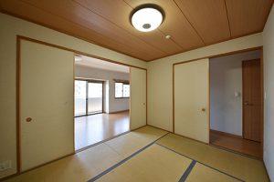改装前の6帖和室の写真