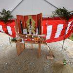 佐伯区千同1丁目の土地ご成約者による地鎮祭メイン