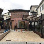 広島市東区温品4丁目の中古住宅の全景外観メイン