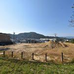広島市東区戸坂大上4丁目の分譲土地の現地全景写真