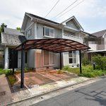 佐伯区湯来町伏谷の買取中古住宅の正面外観全景写真