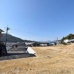 広島市東区戸坂大上の買取土地の外観全景と眺望