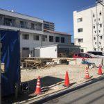 宇品西3丁目の新築一戸建て基礎工事の現地写真