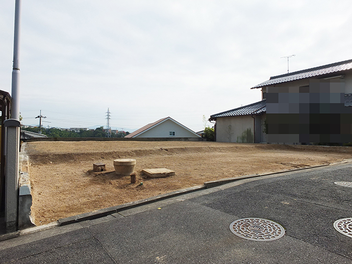 古家解体後の土地92.53坪の外観写真