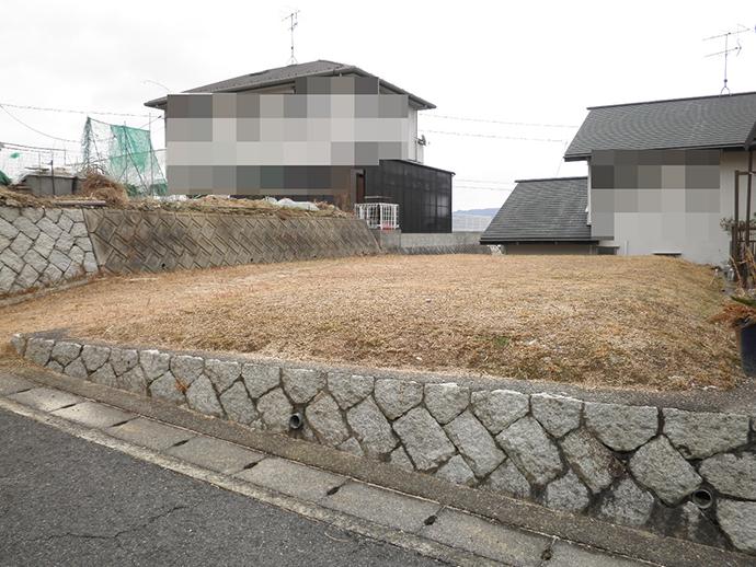 宮島を望む対厳山2丁目の買取土地外観写真
