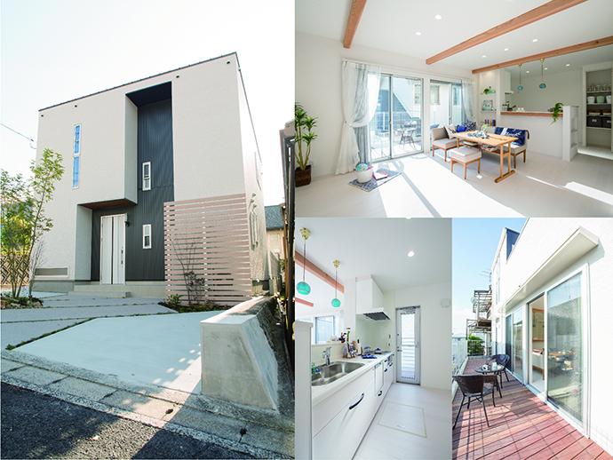 建売モデルハウス完成の内観外観写真集