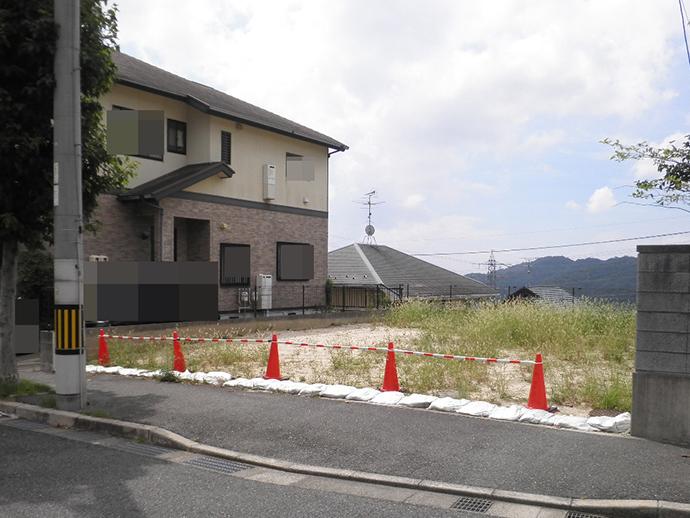土地面積50坪の更地で買い取った中山新町の土地
