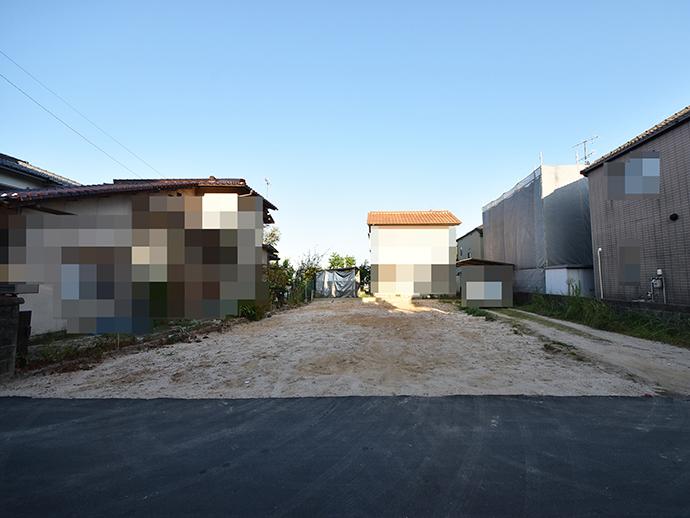 土地面積45.26坪の整形地を買取