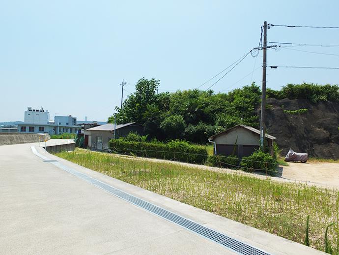 宅地造成前の土地全景写真