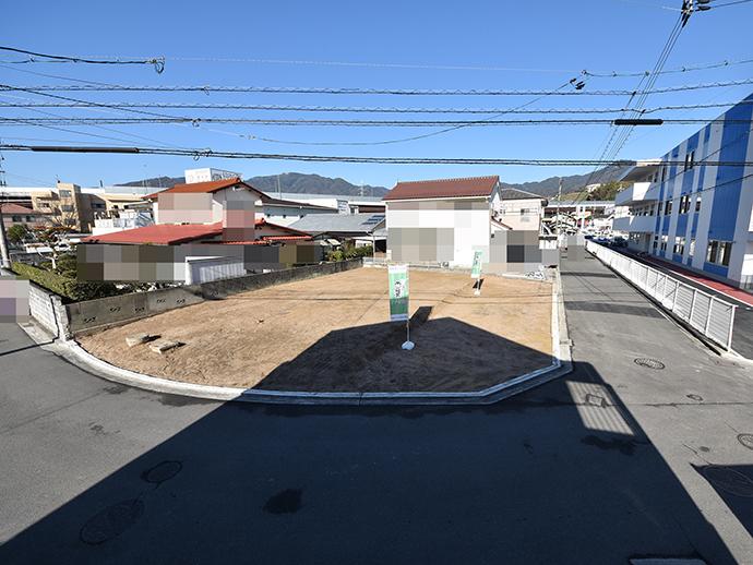 串戸5丁目の土地は更地で買取