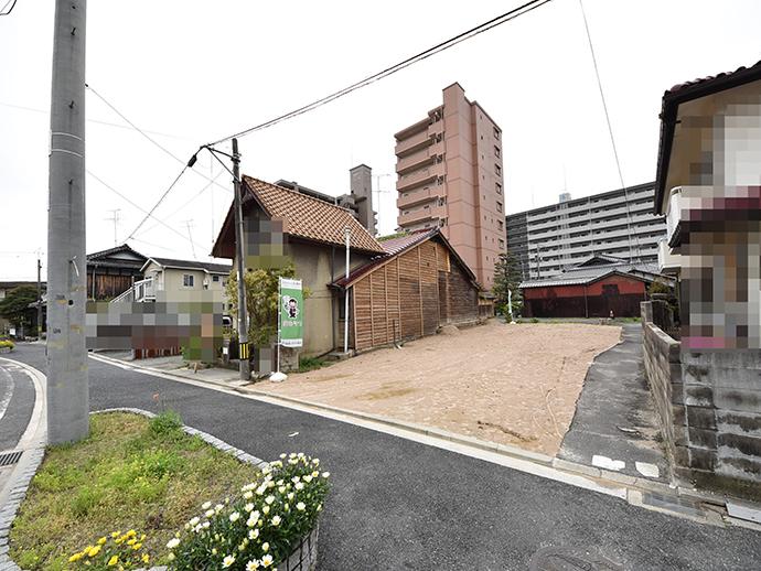 須賀売り土地の解体後の更地になった外観写真