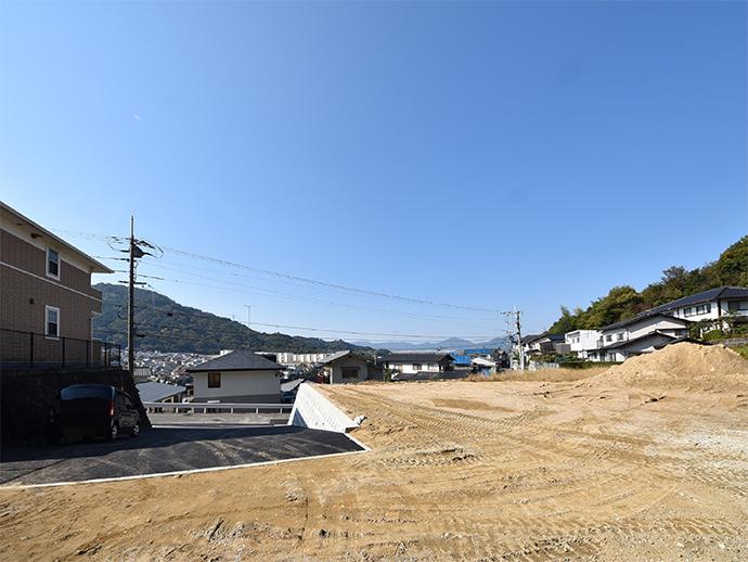 広島市東区戸坂大上の古家解体完了写真