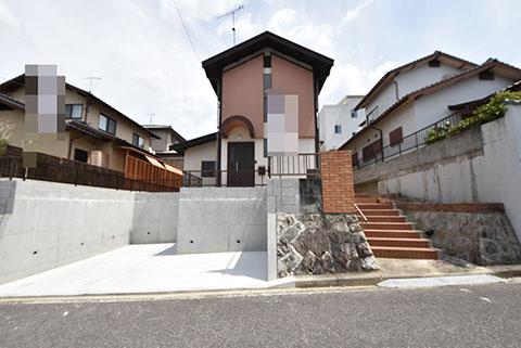 山田新町1丁目中古住宅の外観写真