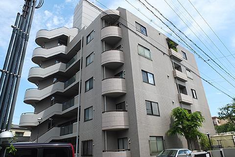 野村佐方コートハウスの外観写真