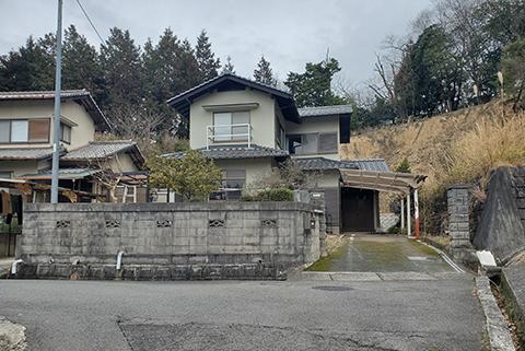 可部町桐原中古住宅の外観写真