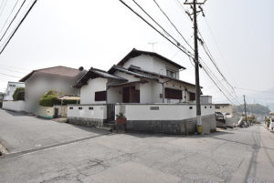 昭和台の土地外観写真