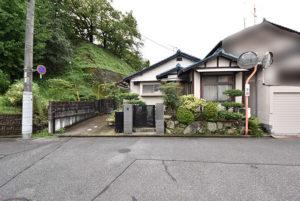 桜尾本町の土地外観